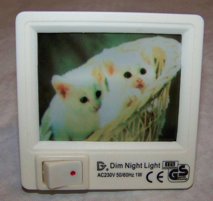 nachtlicht f r die steckdose mit h bschen bildern ebay. Black Bedroom Furniture Sets. Home Design Ideas
